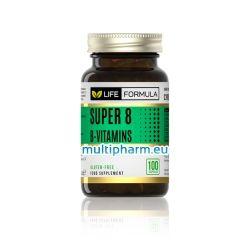 Life Formula / Супер 8 за укрепване на метаболизма и производството на енергия 100капс