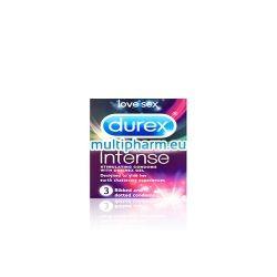Durex Intense / Дюрекс Интензивно стимулиращи презервативи 3бр