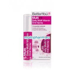 BetterYou MultiVit / МултиВитамин орален спрей 25ml за 48 дни