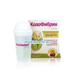 Промо пакет: Колофибрин за редовен стомах и нормално тегло 20 сашета + Подарък шейкър