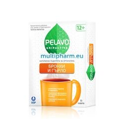Pelavo Gripactive / Пелаво топла напитка за бронхи и гърло 10 сашета