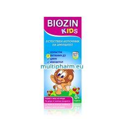 Biozin Kids / Биозин Сироп за деца за подкрепа на имунната система 100ml