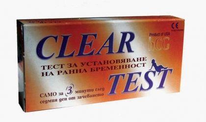 Clear / Тест за бременност–лента