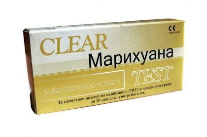 Clear / Тест За марихуана (THC)-лента