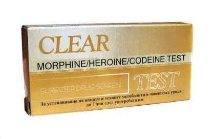 Clear / Тест За опиати-касета