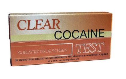 Clear / Тест За кокаин-лента