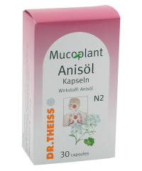 Dr. Theiss Mucoplant Anisol / Др. Тайс мукоплант анисол 30капс.