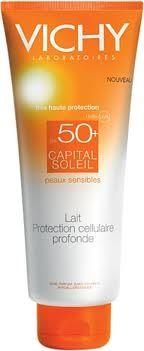 Vichy Capital Soleil / Виши Слънцезащитен Крем за чувствителна кожа SPF50+ 50мл.
