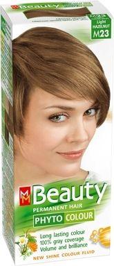 MM Beauty Phyto Colour / ММ Бюти фито боя за коса M23 светъл лешник