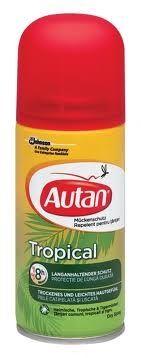 Autan Tropical / Аутан Тропик сух спрей 100мл против комари