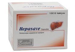 Hepasave / Хепасейв при чернодробни заболявания 60 капс.