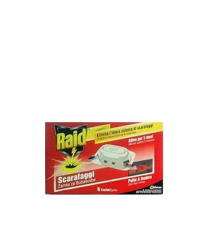 Raid / Райд примамка за хлебарки 6 бр.