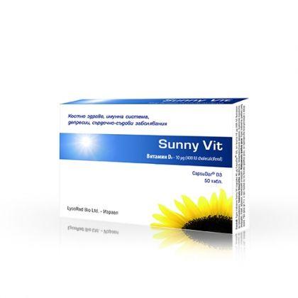 Herbamedica Sunny Vit /  Съни Вит за здрави кости и имунна система 50 табл.