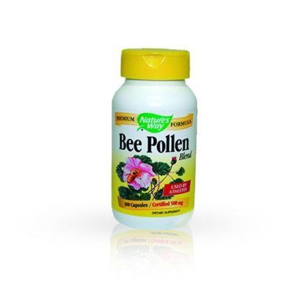 Nature's way Bee Pollen / Пчелен прашец за сила и енергия 100 капс.