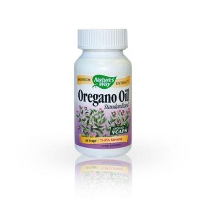 Nature's way Oregano oil / Масло от риган за пълноценна храносмилателна функция 60капс.
