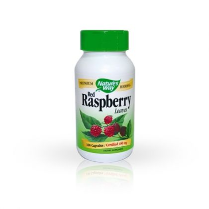 Nature's way Red Raspberry / Малина за стомашно-чревен баланс 100 капс.
