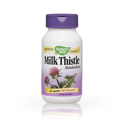 Nature's way Milk Thistle / Магарешки бодил за здрав черен дроб 60капс.