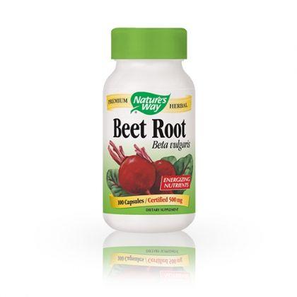 Nature's way Beet Root / Червено цвекло за подобряване на паметта 100капс.