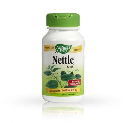 Nature's way Nettle / Коприва за подобряване на сърдечно-съдовата функция 100капс.