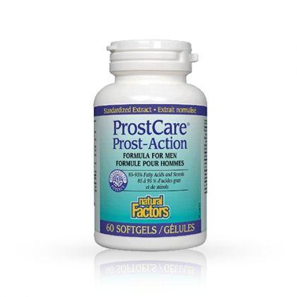 Natural Factors Prostcare / Просткеър за пълноценна функция на простатата 60капс.