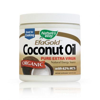 Nature's way Coconut Oil / Кокосово масло за отслабване и хидратиране на косата и кожата 474мл.