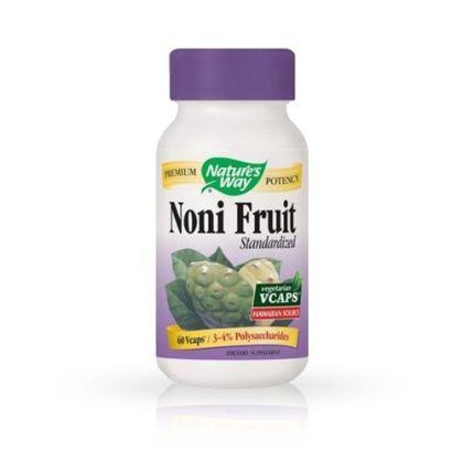 Nature's way Noni Fruit / Нони Плод за имунитет и енергия 60капс.
