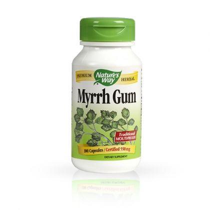 Nature's way Myrrh Gum / Смола от смирна за детоксикация и борба с кожни инфекции 100капс.