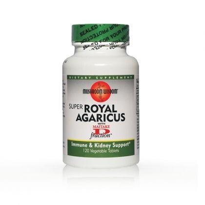 Super Royal Agaricus / Супер Агарикус за подкрепа на имунната система и бъбреците 120табл.