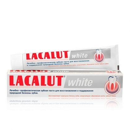 Lacalut White / Лакалут Уайт за цялостна защита и избелване 75мл.