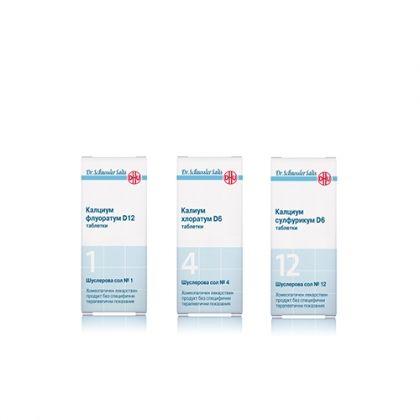 Комбинация със Шуслерови соли При целулит 1, 4, 12