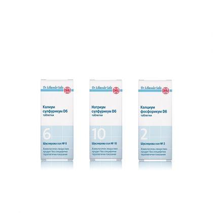 Комбинация със Шуслерови соли При хронична поленова алергия 2, 6, 10