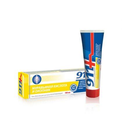 Окопник и мравчена киселина загряващ гел-балсам при ставни болки 100мл.