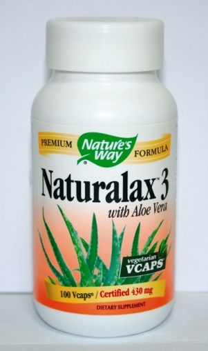 Naturalax 3 / Натуралакс 3 за храносмилане 20капс.