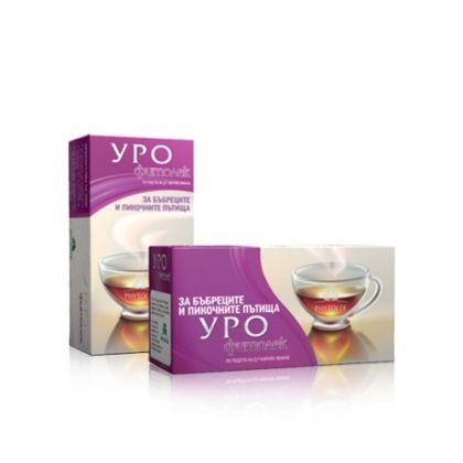 Fitolek / Фитолек Уро чай за подпомагане на бъбречната и уринарната функция 20бр
