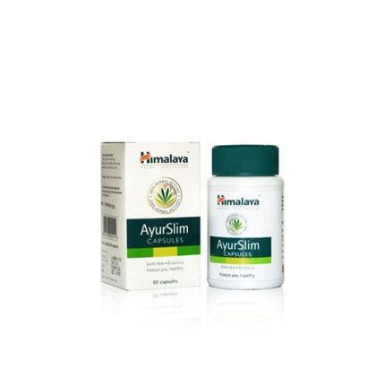 Himalaya AyurSlim / Хималая АюрСлим за намаляне на теглото с дълготраен ефект 60 капс
