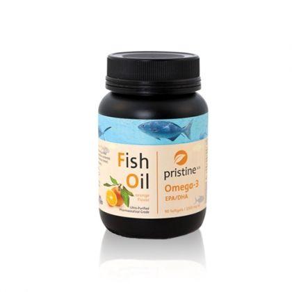Pristine Fish Oil / Пристин Рибено масло 90капс.