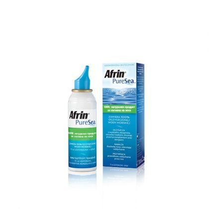 Afrin Pure Sea / Африн Пюър Сий Изотоник спрей за поддъжане на хигиената в носа 75мл.