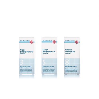 Енергизираща комбинация със Шуслерови соли при Сърдечно-съдова недостатъчност 3, 5, 8