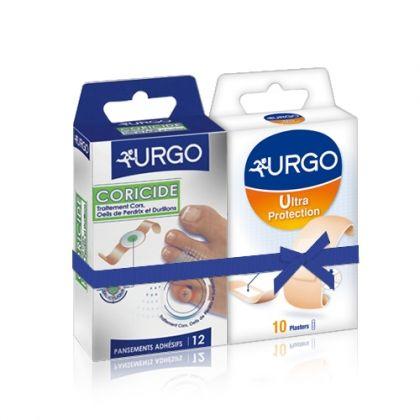 Urgo /  Урго комбинация за премахване на мазоли и кокоши трън в 2 стъпки