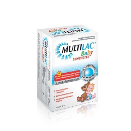 Multilac Baby / Мултилак Бейби синбиотик за деца и бебета над 4 месечна възраст 10 сашета