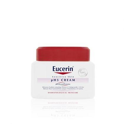 Eucerin® pH5 / Юсерин Крем за лице и тяло за чувствителна кожа 75мл.