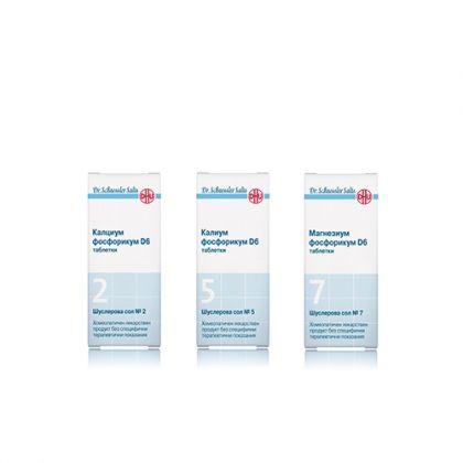 Енергизираща комбинация със Шуслерови соли при стрес 2, 5, 7