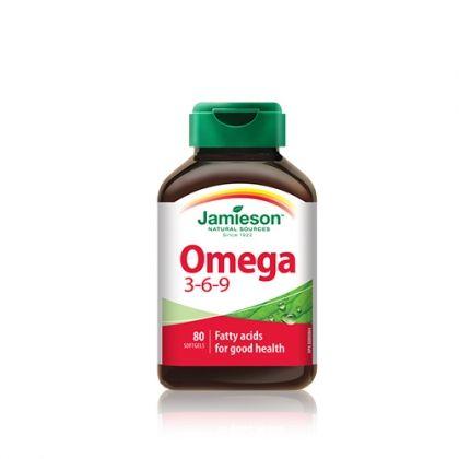 Jamieson / Джеймисън Oмега 3-6-9 1200мг. 80капс.