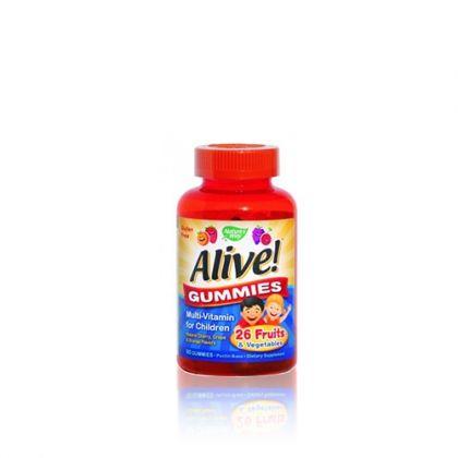 Alive / Алайв Желирани Мултивитамини за деца 90табл.