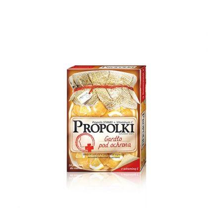 Propolki / Прополки – прополисови таблетки за смучене с витамин C за гърлото и имунната система 16 табл