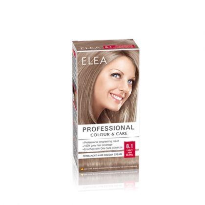 ELEA Professional Colour & Care / Елеа боя за коса № 8.1 Светло пепелно рус