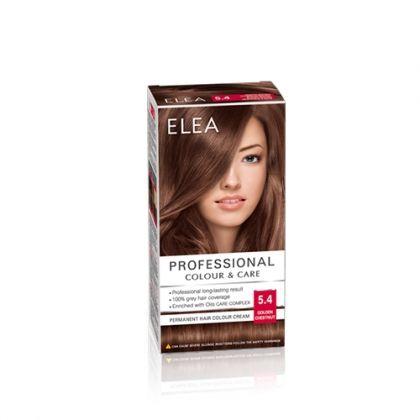 ELEA Professional Colour & Care / Елеа боя за коса № 5.4 Златен кестен