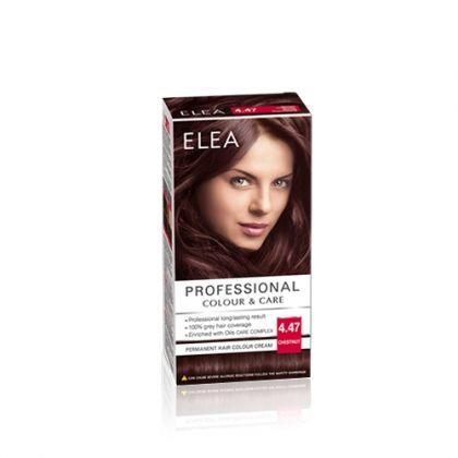 ELEA Professional Colour & Care / Елеа боя за коса № 4.47 Кестен