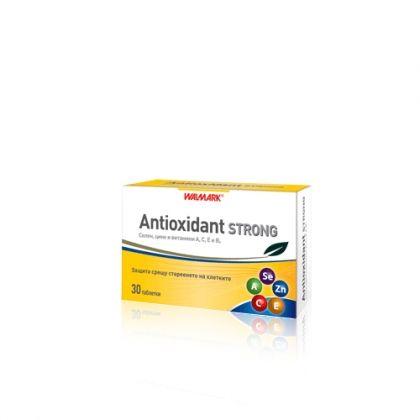 Antioxidant Strong / Антиоксидант Стронг Витамини и микроелементи 30табл.