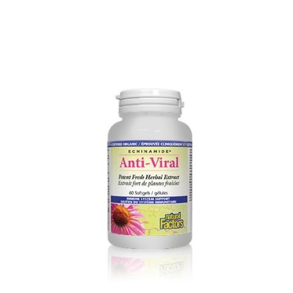 Natural Factors / Анти-Вирал билков екстракт за укрепване на имунната и дихателната системи 60 капс